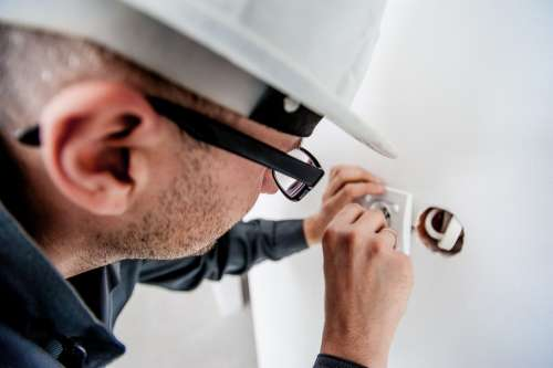 Electrician Electric Electricity Worker