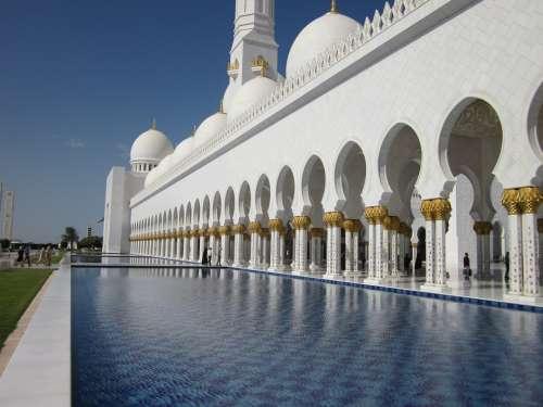 Emirates Mosque Abu Dhabi Sheikh Zayid Mosque