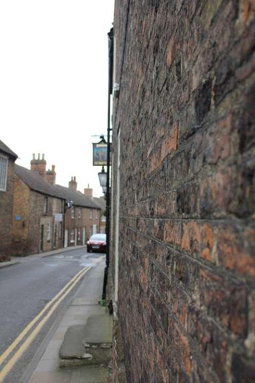 England Brick Street Old Kingdom Britain Facade