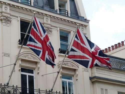 England United Kingdom London Architecture Flag