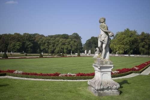English Garden Münsterland Landscaped Garden Castle