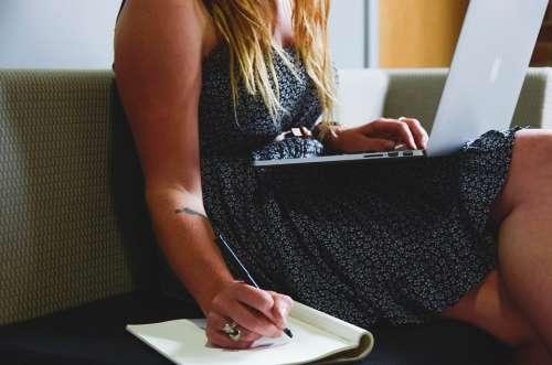 Entrepreneur Startup Start-Up Woman Planning
