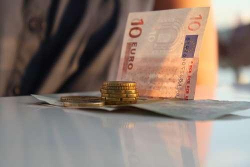 Euro Money Coins Banknotes