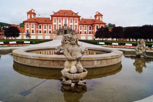 Europe Castle Architecture