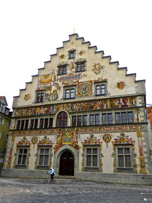 Facade Decorative Decoration Building Exterior