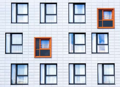 Facade Windows Building Architecture Exterior Wall
