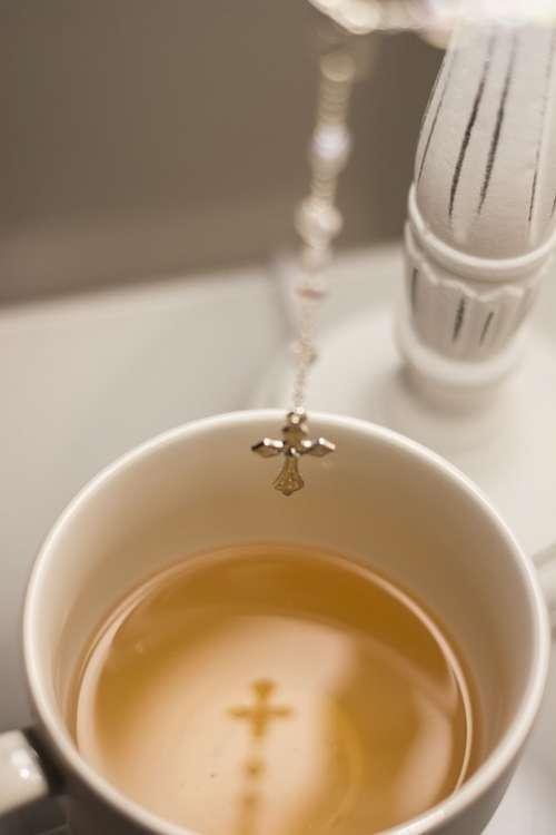 Faith Cross Believe Christianity Tea