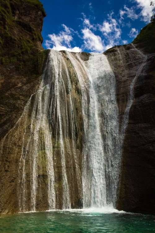 Falls Waterfall Waterfalls Nature Landscape