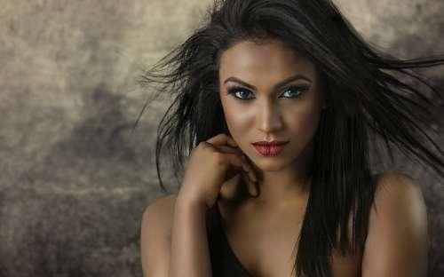 Fashion Woman Portrait Model Girl Beauty Make-Up