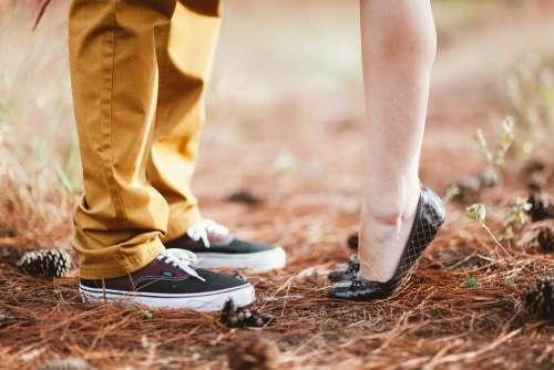 Feet Young Happy Marriage Retro Love Vintage
