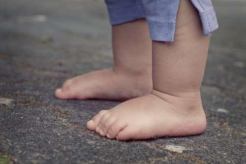 Feet Children'S Feet Baby Barefoot Human Child