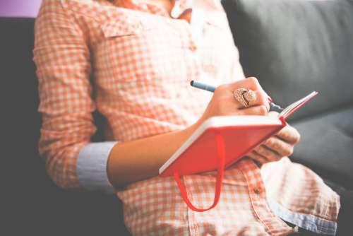 Female Diary Journal Write Beautiful Inspire