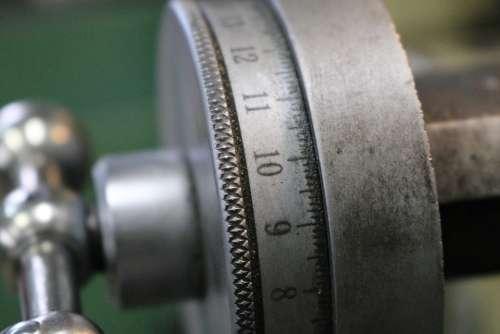Ferro Iron Clock Metal Vintage Construction