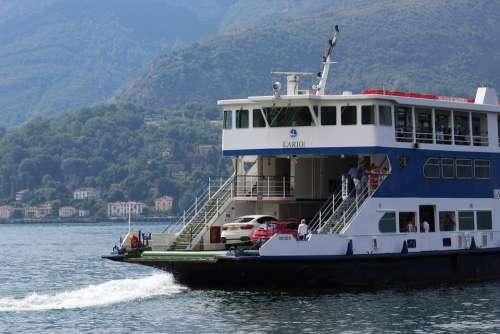 Ferry Car Ferry Transport Pkw Boat