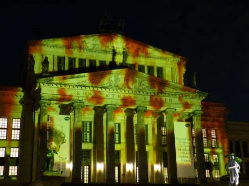 Festival Of Lights Berlin Capital Germany Landmark