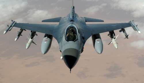 Fighter Jet Fighter Aircraft F 16 Falcon Aircraft