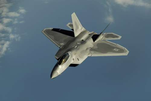 Fighter Jet Fighter Aircraft Aircraft F 22 Raptor