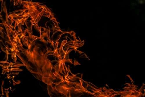 Fire Flames Heat Glow Warm
