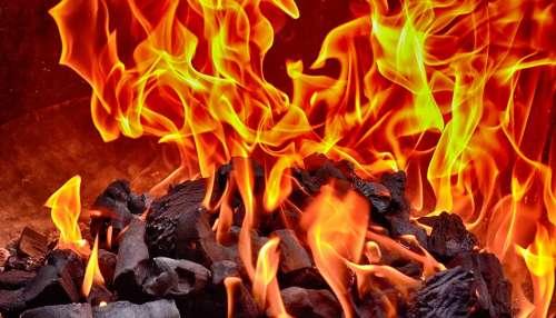 Fire Flame Carbon Burn Heat Hot