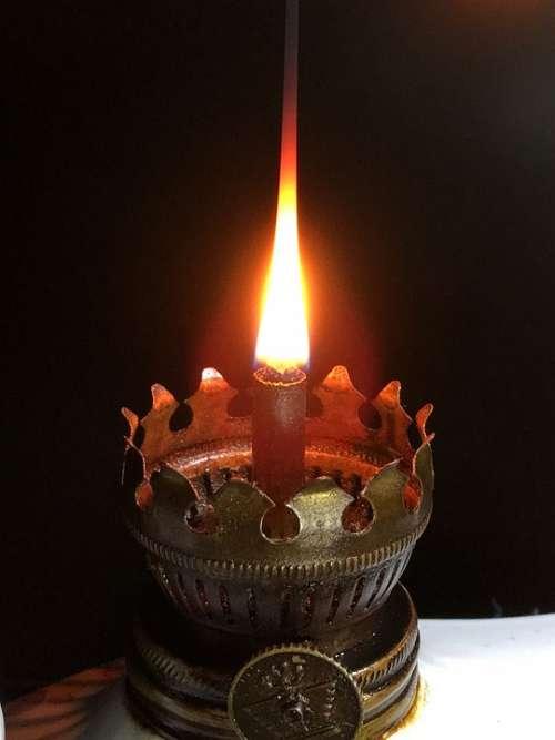 Fire Wick Flame Shine Burn Heat Hot Light Cozy