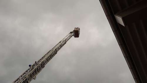 Fire Head Turntable Ladder Ladder Fire Fighting