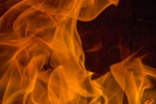Fire Calls Heat Hot Burn Fireplace Barbecue
