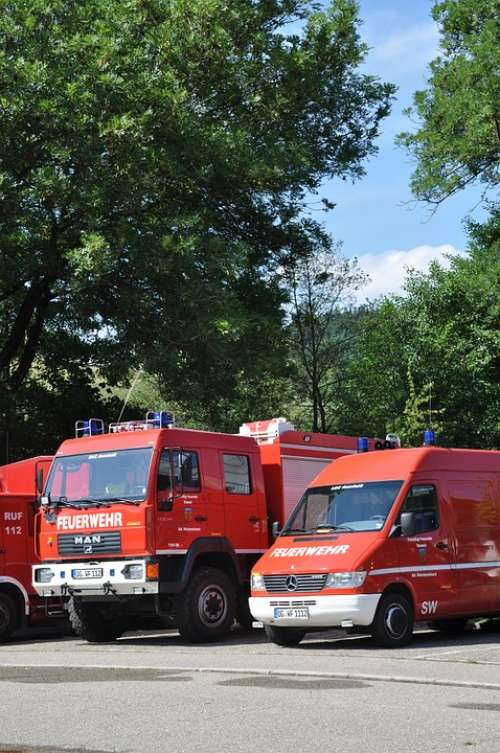 Fire Vehicles Fire Truck Red