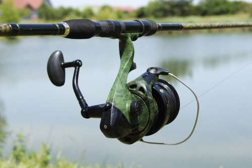 Fishing Reel Pond