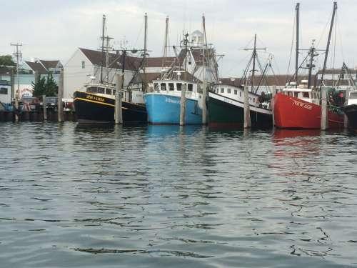 Fishing Vessel Harbor Commercial Dock Trawler