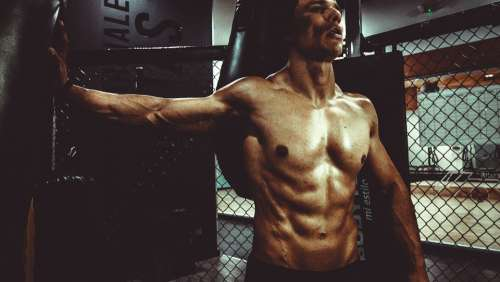 Fitness Body Body Build Man Sexy Six Pack