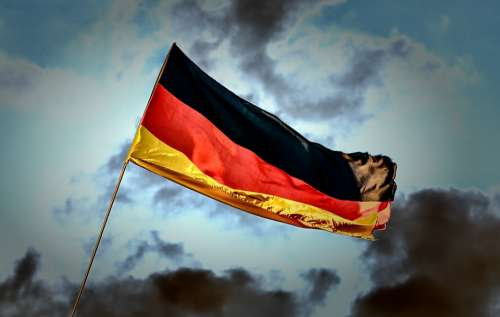 Flag Germany Nationality Windy Flutter