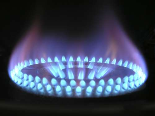 Flame Gas Gas Flame Blue Hot Ring Burner Danger
