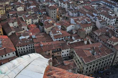 Florence Tuscany Architecture Duomo City Roofs