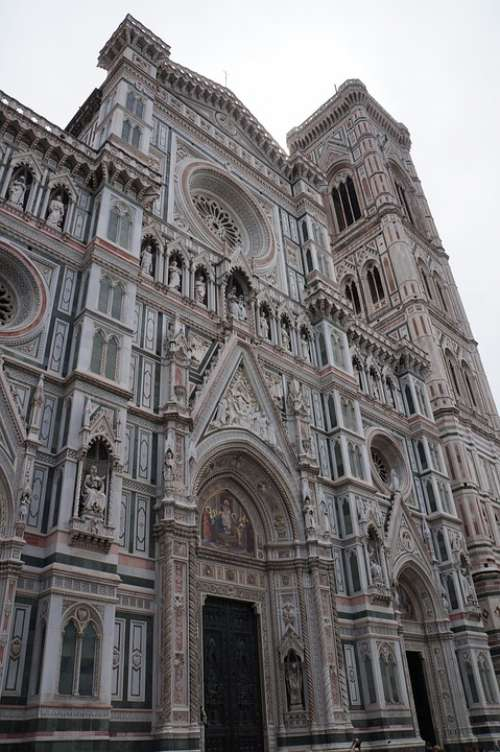 Florence Italy Cathedral Architecture Church