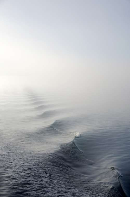 Fog Mist Nature Ocean Sea Water Wave