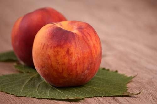 Food Peach Nectarine Fruit Fruits Healthy Food