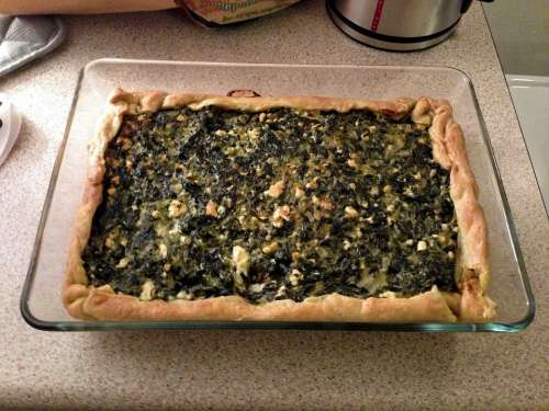Food Spinach Pie Spinach Tart Baked Pie Greek