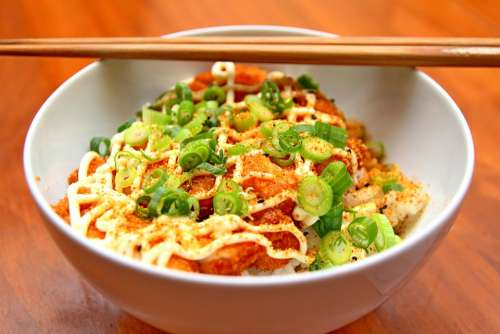 Food Japanese Asian Bowl Dish Eat Chinese