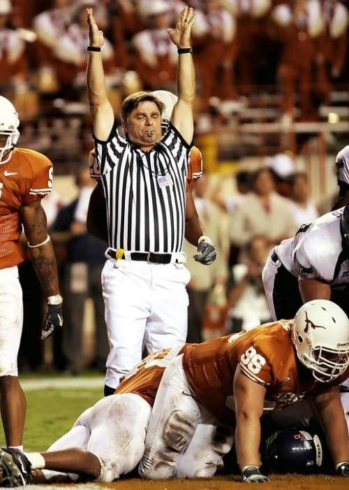 Football American Football Game Texas Touchdown