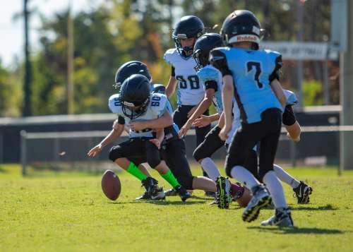 Football Boys Sports Kids Fumble