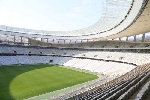 Football Stadium Sit Stadium Rows Of Seats