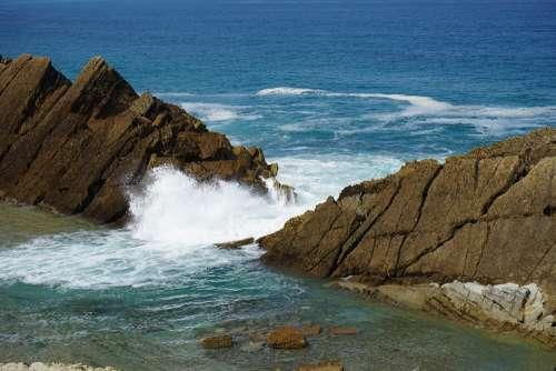 Force Sea Surf Rock