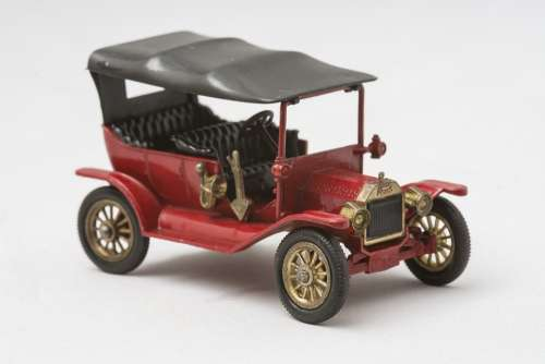 Ford T Model Matchbox Found In The Cellar Memory