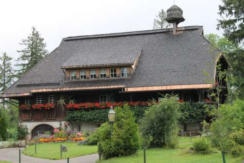 Forest House House Black Forest Village Truss