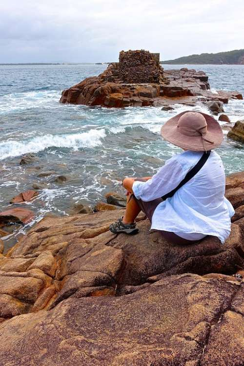 Fort Tomaree Nelson Bay Australia Rocky View Relax