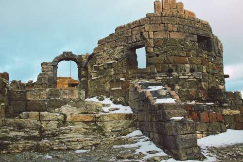 Fortress Journey Architecture Old Sky Historical