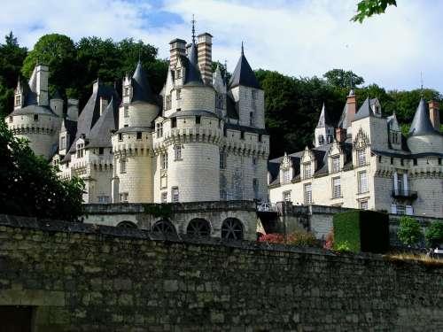 France Loire Castles Chateau Ussé