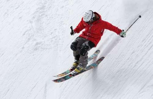 Freerider Skiing Ski Sports Alpine Snow Winter