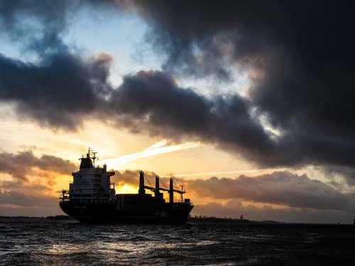 Freight Tanker Vessel Boat Ship Oil Cargo Ocean