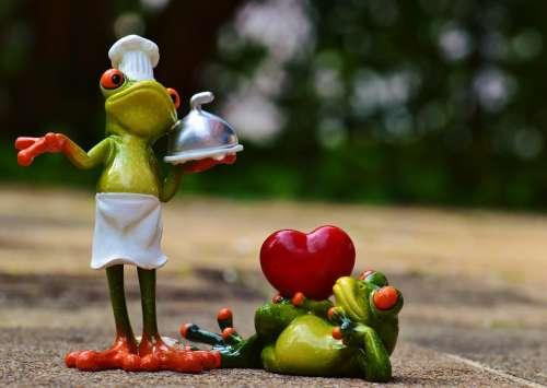 Frog Cooking Love Valentine'S Day Eat Kitchen